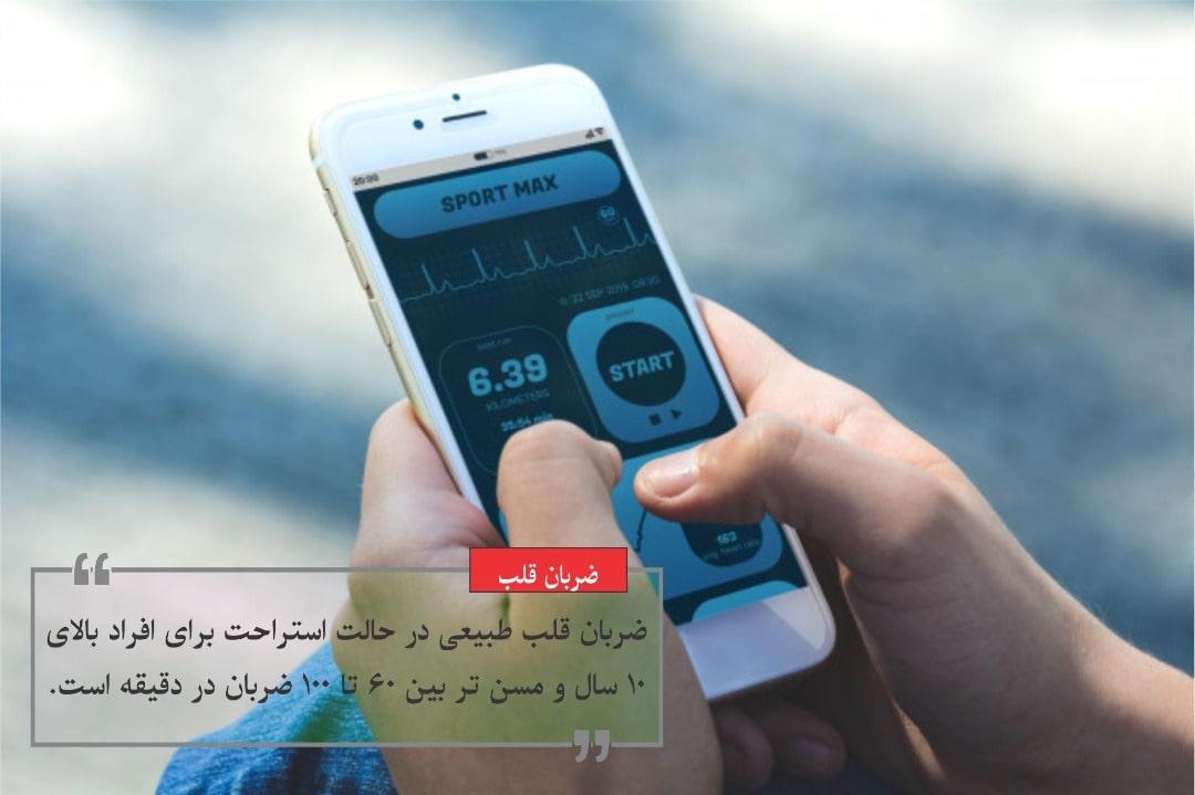 ضربان قلب خود را می توان با تلفن های همراه یا گجت ها هوشمند بررسی کنید
